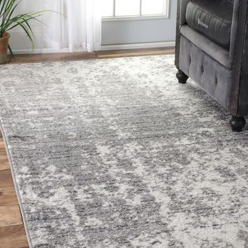 NuLOOM Power Loomed Deedra Rug Grey