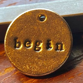 A Teeny Tiny Reminder: Begin