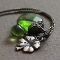 Luck of the Irish Charm Necklace by JamJewels1033 on Etsy