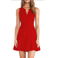 Fashion slim tunic dress party  women summer sexy dress [7669958150]