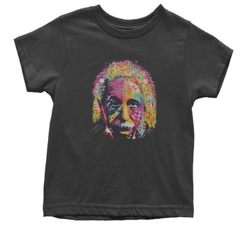 Neon Albert Einstein Youth T-shirt