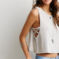 Caged Armhole Tank