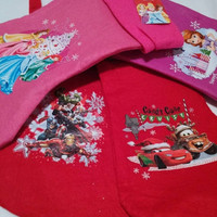 ON SALE NOW Licensed Christmas Stockings Disney Princess Cars or Avengers Personalized