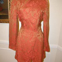 CAROLINA HERRERA Silk Evening Pantsuit Original Sample