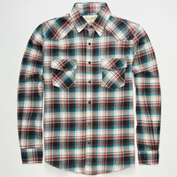 Coastal Nrg Mens Flannel Shirt White  In Sizes