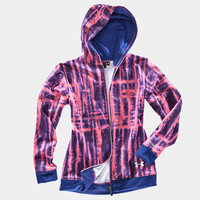 Girls' Armour Fleece Storm Printed Full Zip Hoody | 1232175 | Under Armour US
