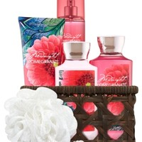 Basket of Favorites Gift Kit Midnight Pomegranate