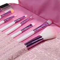 Tools Portable Alphabet Pink Hot Sale Make-up Brush Set [6381457732]
