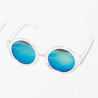 CLEAR MIRROR SUNGLASSES - EMODA Global Online Store