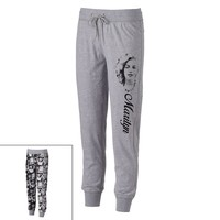 Freeze Marilyn Monroe Reversible Jogger Pants - Juniors, Size: