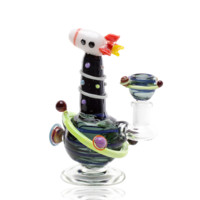 Empire Glass Mini Dab Rig - Rocket Ship