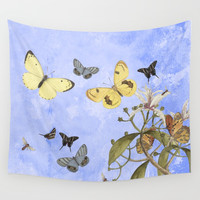 Let us dance in the sun Wall Tapestry by anipani