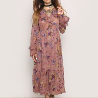 AGE OF INNOCENCE MIDI DRESS