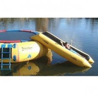 Island Hopper Bounce N Slide Water Trampoline Attachment