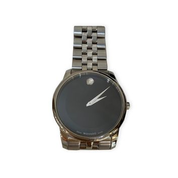 Movado Mens Stainless Steel Watch