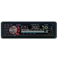 Supersonic Mp3-Cd Receiver With Am-Fm Radio, Usb-Sd Inputs, Aux In & Detachable Panel