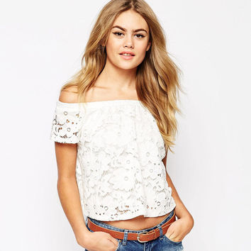 White Lace T-shirts = 4804253124