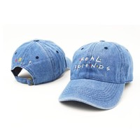 Unisex Cool Real Friends Sports Embroidered Baseball Cap Hats [10931726739]