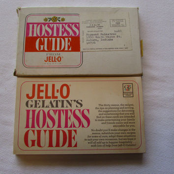 Vintage Hostess Guide from Jello