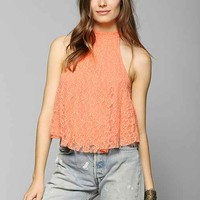 Kimchi Blue Lacey Love High-Neck Tank Top-