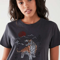 Future State Tiger + Sun Tee | Urban Outfitters