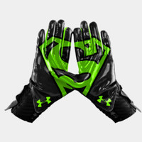 Men's Under Armour Alter Ego Superman Highlight Football Gloves | 1249948 | Under Armour US