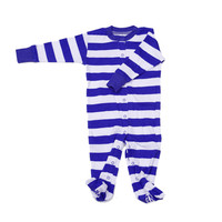 Classic Stripes Footie Pajamas
