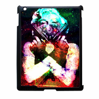 Marilyn Monroe Tattooed Flower With Pistol Gun Galaxy iPad 3 Case