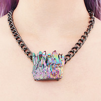 Se Nourrir D'illusions Crystal Quartz Necklace
