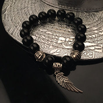Shiny Awesome Hot Sale Great Deal Gift New Arrival Stylish Fashion Hip-hop Couple Accessory Bracelet [6542740547]