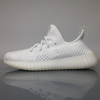 Adidas Yeezy Boost 350 V3 Triple White Blade Real Boost