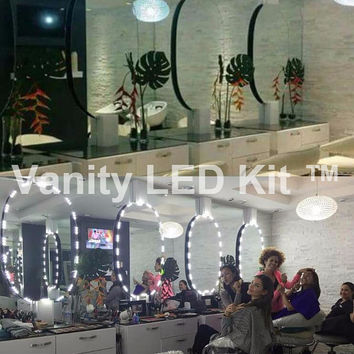 Pro - Hollywood lighted Make-up Vanity LED Mirror Kit,  Vanity Mirror LED, LED Vanity kit +  Dimming Switch
