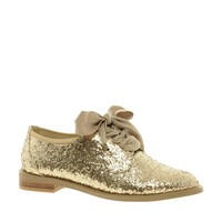 F-Troupe Glitter Lace Up Shoes