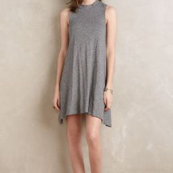 Maeve Mockneck Swing Dress in Grey Size: