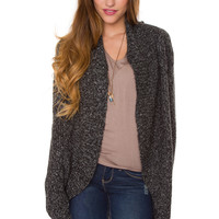 Keep Me Close Cardigan - Charcoal