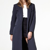 Miles Longline Blazer Coat Discover the latest fashion trends online at storets.com