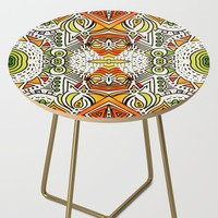 Seeing Tribe Side Table by duckyb