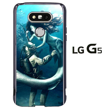 Diver and The Mermaid LG G5 Case