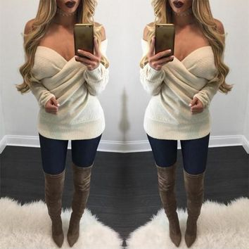 Streetstyle  Casual Apricot Plain Plunging Neckline Loose Mini Dress