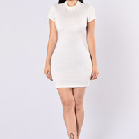 Open Your Heart Dress - Ivory