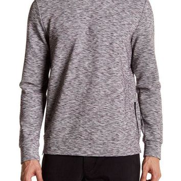 DCCKHB3 Kenneth Cole New York | Side Zip Long Sleeve Sweater