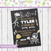 Dinosaur Invitation, Dinosaur Birthday Invitation, Dinosaur Party, Dinosaur party Invitation, Dinosaur Birthday party Printable invitation