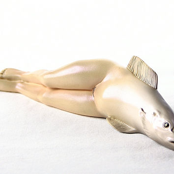 Collective Invention Female Fish Statue by Magritte 6W - MAG03