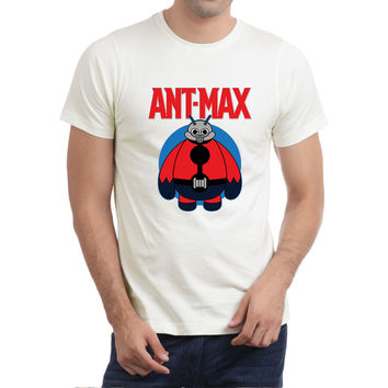 Ant-Max Mens T-shirt Black and White