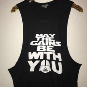 May The Gains Be With You - Ruffles with Love - Graphic Tee - RWL