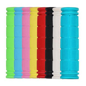 2017 Bicycle Handlebar Grips Fixie Fixed Gear Bike Rubber 8 Colors Bicycle Grips Soft Handlebar Anti-Skid Comfortable Handlebars