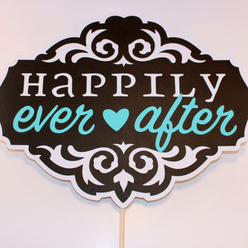 Photo Prop - Happily Ever After Sign