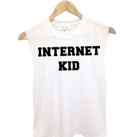 Internet Kid Muscle Tank - Small