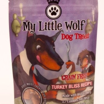 Waggers My Little Wolf Dog Treat Turkey 5.29 oz