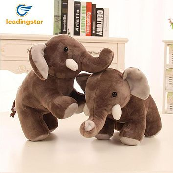 LeadingStar 30cm Cute Large Stuffed Plush Toy boo elephant Simulation Elephant Doll Throw Pillow Birthday Christmas Gift zk15